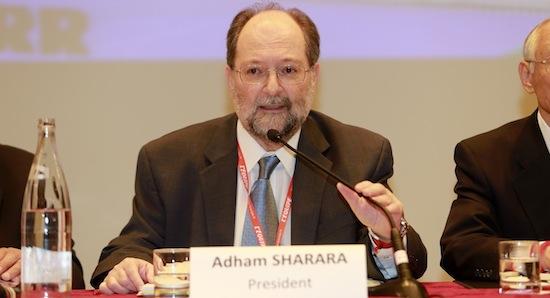 Adham Sharara Re-elected as ITTF President