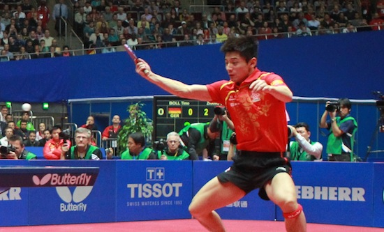 Tissot Official Timekeeper for the World Table Tennis