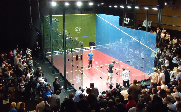Dubai Squash Show Night Features Showcourt