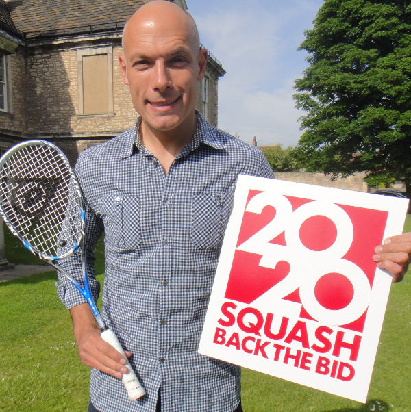 Leading Soccer Referee Howard Webb MBE backs Squash 2020 Olympic Bid