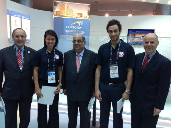 World Squash Federation Welcomes IOC