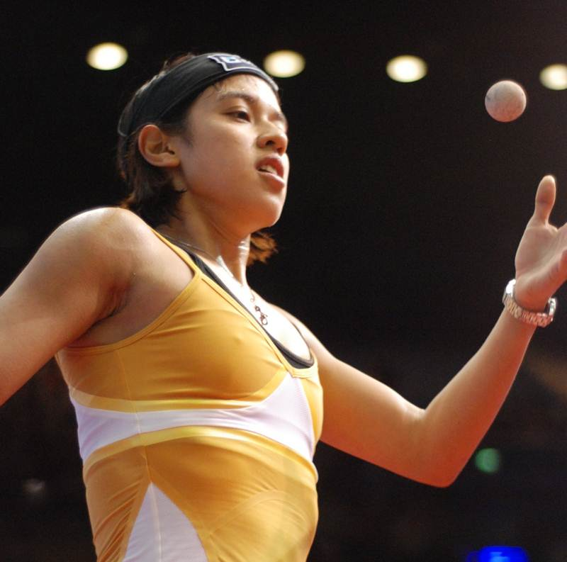Nicol David Heads World Games Field In Colombia