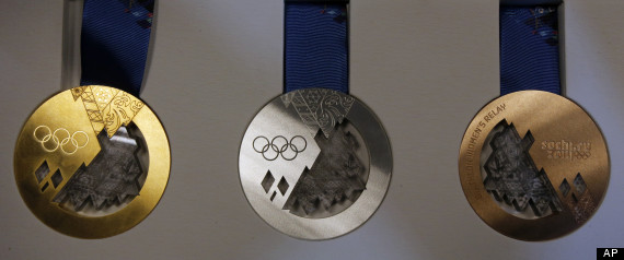 Unveils Olympic/Paralympic Winter Games medals