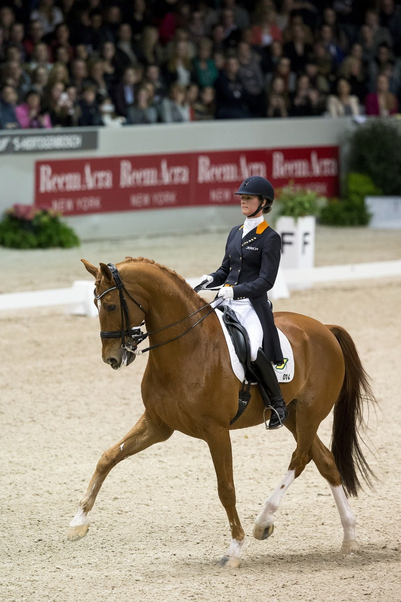 Adelinde Cornelissen and Jerich Parzival re-take