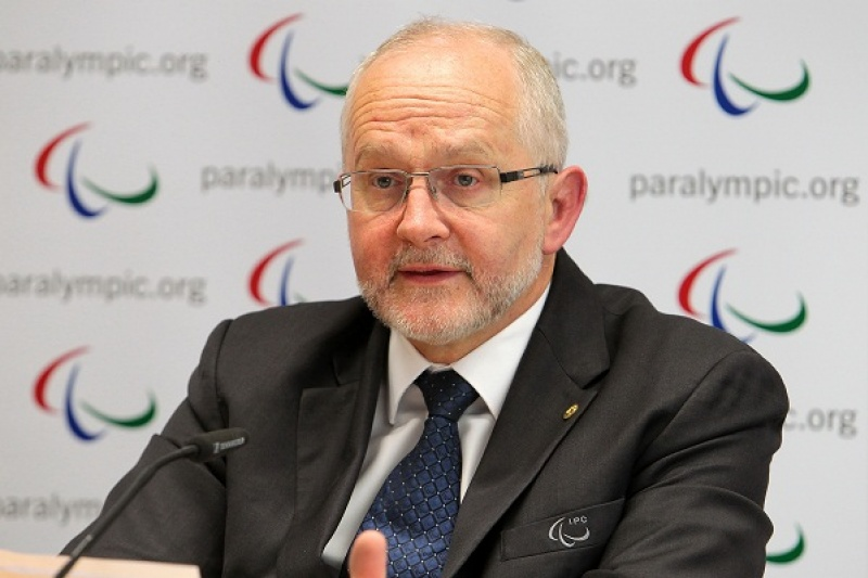 Sir Philip Craven, receives Légion d'Honneur