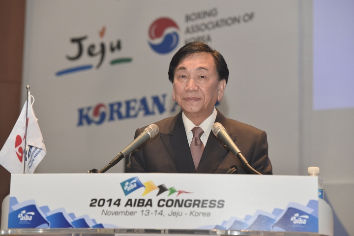 CK Wu re-elected as President of International Boxing Association