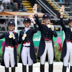 Canada Dressage team gold
