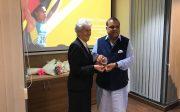 IOA President Narinder Batra