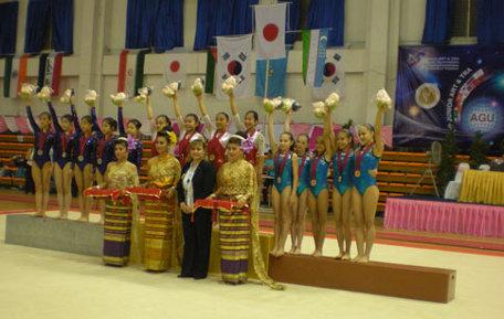 12th Junior Artistic and Trampoline Gymnastics Asian Championships, Suphanburi