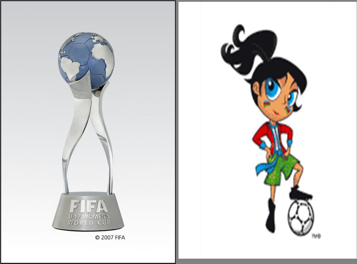 FIFA U-17 Women's World Cup 2012 Trophy mascot unveiled