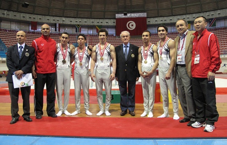 11th African Championships in Artistic Gymnastics, Tunis