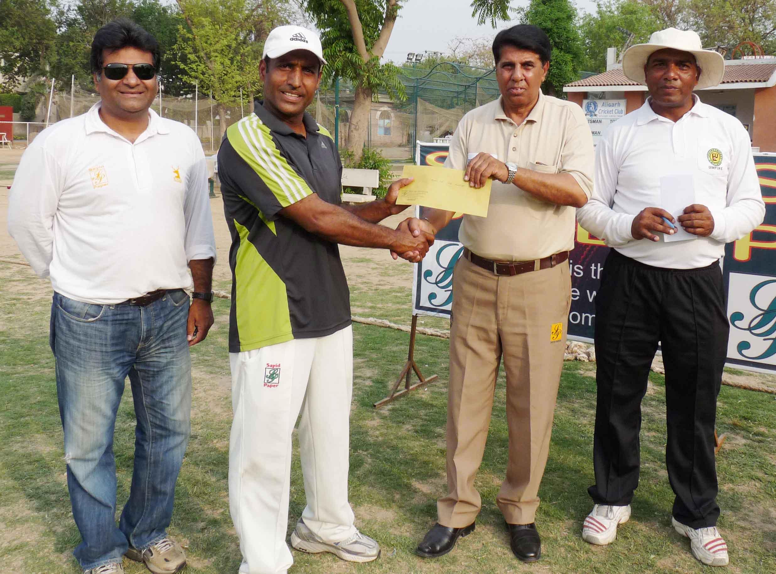 14th National Veteran Senior Cricket Cup, Faisalabad Veteran Beat Textile Tigers