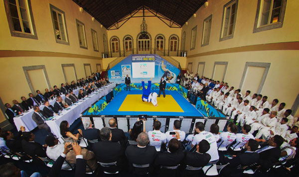 Global Launch Event for the Judo World Championship, Rio 2013