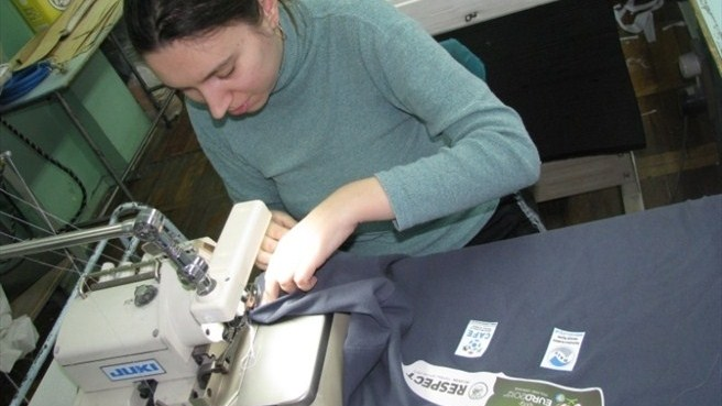 Disabled workers aid Respect Inclusion in Ukraine