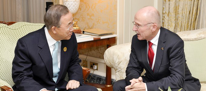 United Nations Special Adviser on Sport Re-appointed for a Fifth Year