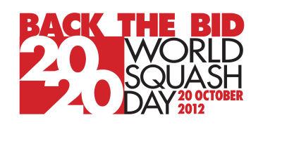 World Squash Day to Back 2020 Olympic Bid