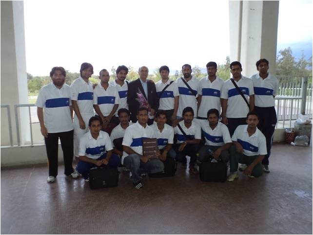 AFC C Certificate Coaching Course concluded at Jinnah Sports Complex