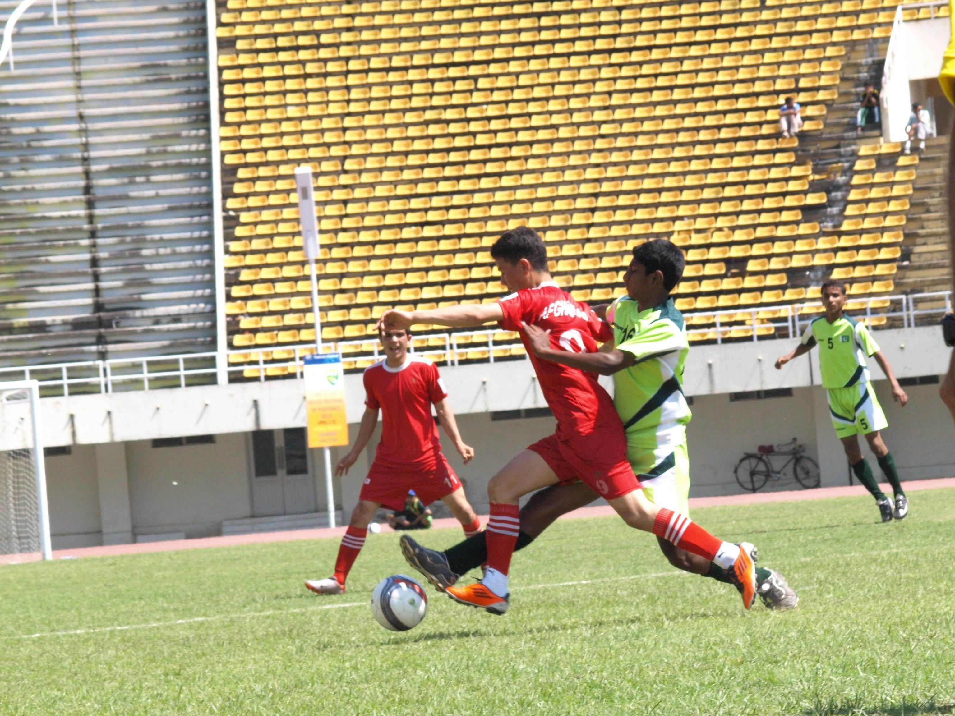 AFC U-14 (Boys) Festival of Football, Islamabad Match Results, April 12, 2012