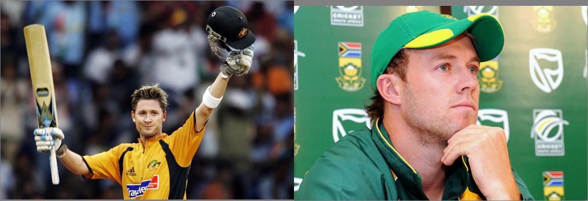 De Villiers and Clarke become number-one ranked Test batsmen