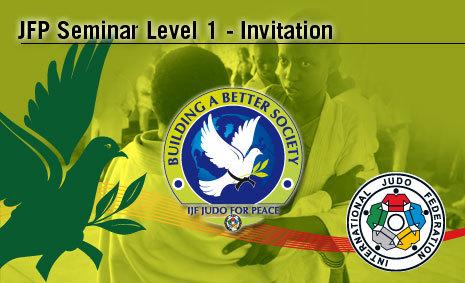 Judo for Peace Seminar – Level 1 Invitation