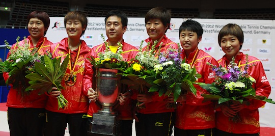 18th Title for Both Chinese Teams, World Champions Defeat European Champions