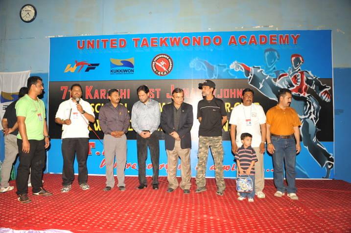 7TH UTA All Karachi Inter-School Taekwondo Championships-2012