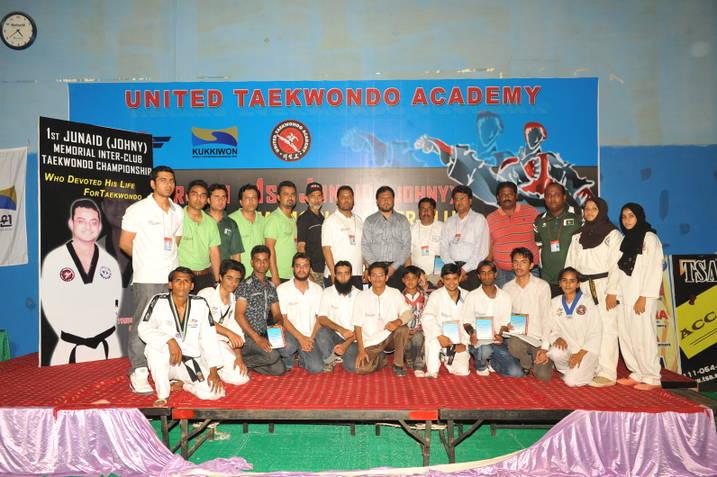 First Junaid Memorial Karachi Inter-Club Taekwondo Championships-2012