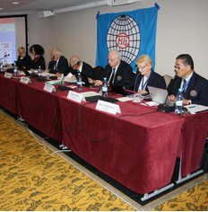 FIG Council at the close of its ordinary meeting