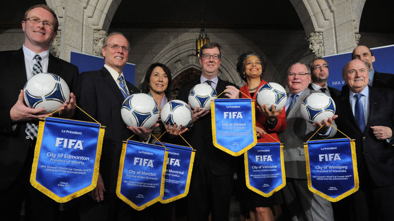 FIFA Women's World Cup Canada 2015™ Host Cities unveiled