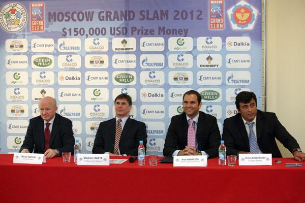 Judo Grand Slam, Moscow 2012  PREVIEW
