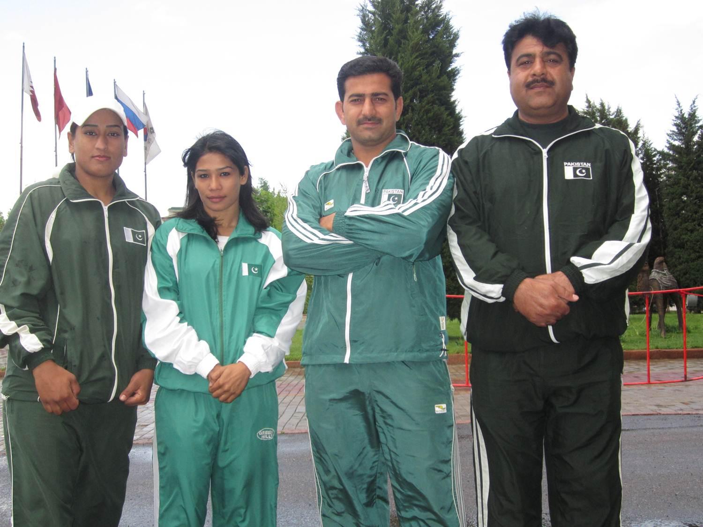 Seventh-place for Fouzia Mumtaz of Pakistan in Asian Senior Judo
