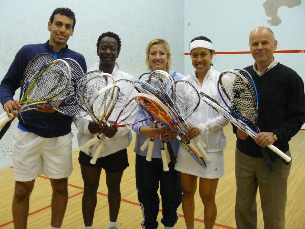 WSF 'Rackets for Africa' Reach Destination