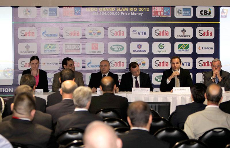 Judo Grand Slam, Rio 2012 Last Stop before the Games