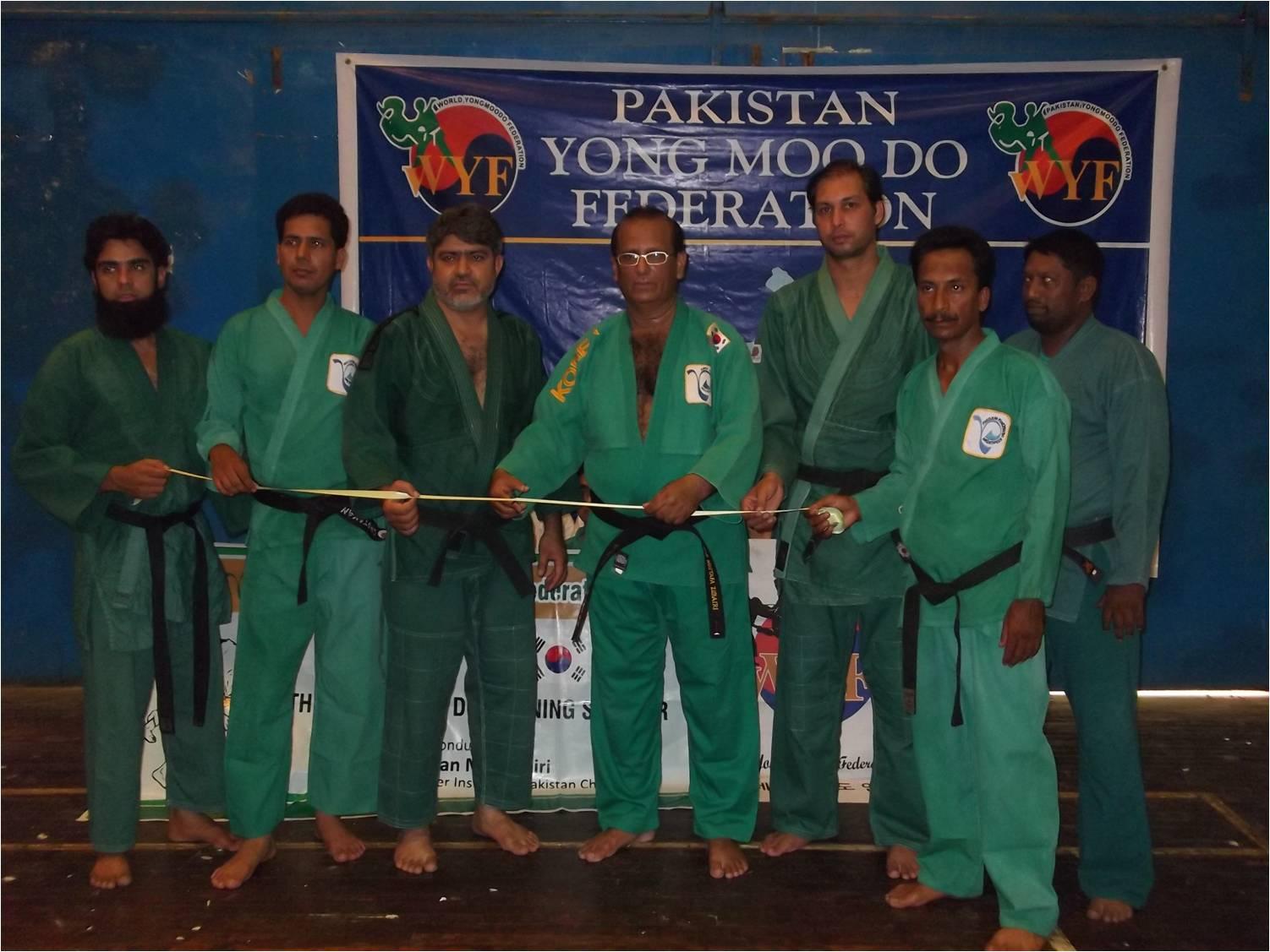 Yong Moo Do seminar at Pakistan Sports Board