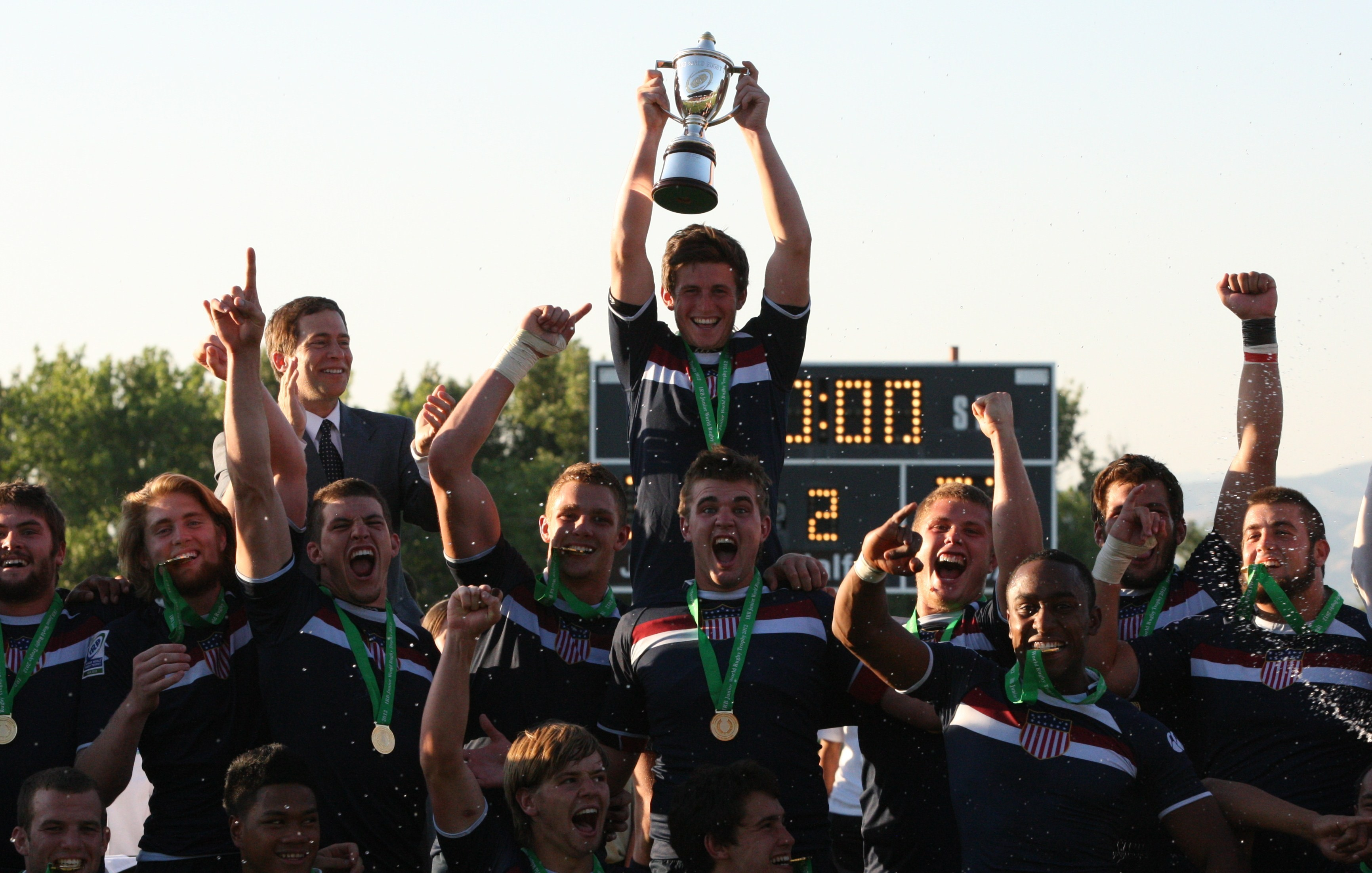 USA Lift IRB Junior World Rugby Trophy