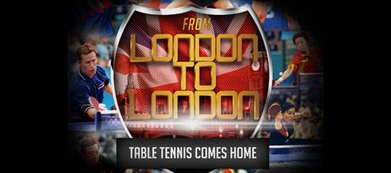 London to London Table Tennis Come Home