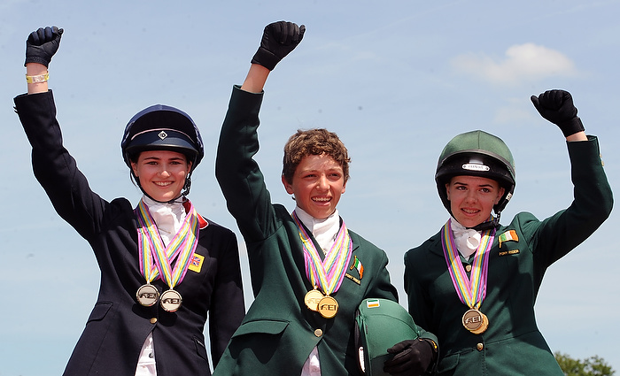 Double GOLD for Germany, GB & Ireland