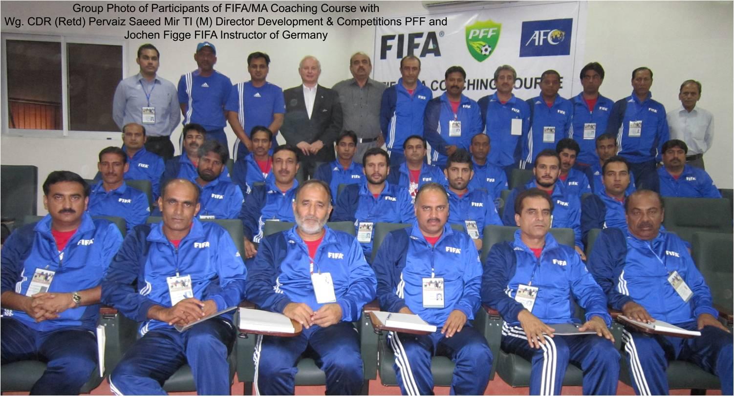 FIFA MA Coaching Course for coaches