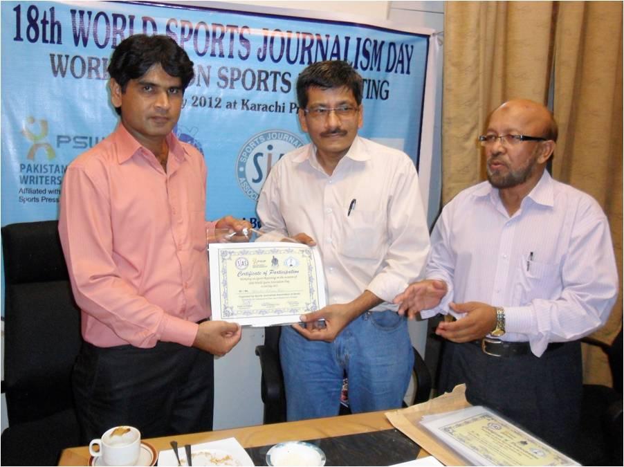 International Sports Journalists Day celebrated