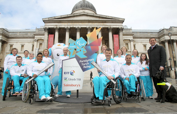 Paralympians from Yesteryear to be Torchbearers