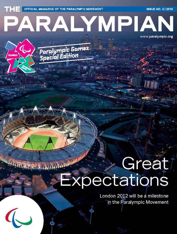 New Edition of The Paralympian Magazine
