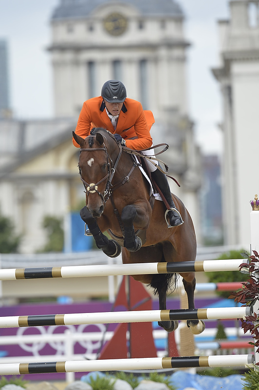 Jumping gets off to a dramatic start at Greenwich