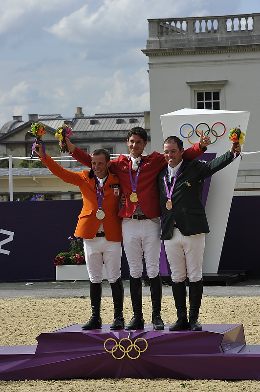 Guerdat takes individual Olympic gold