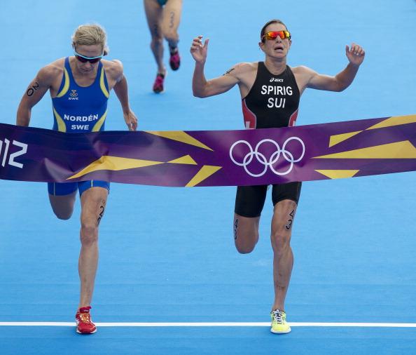 Medal positions triathlon confirmed