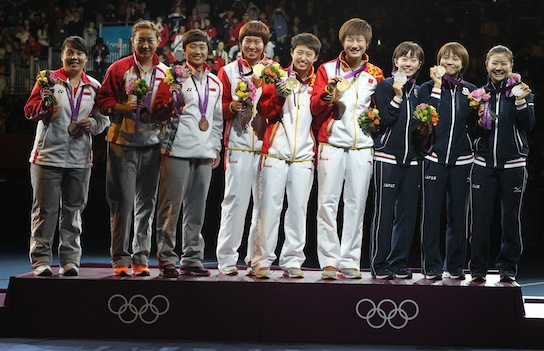 Olympic Title Again for Chinese Women's Team