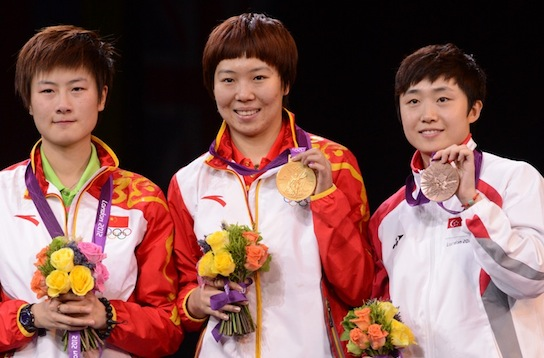 LI Xiaoxia is New Olympic Champion