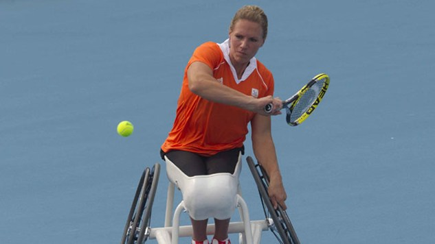 London 2012 Paralympic Tennis event Results
