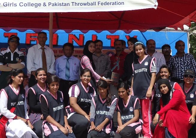 Cent Jesses Mari School wins Throwball