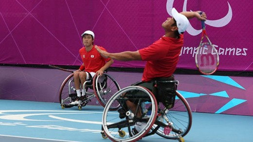 Paralympic Tennis results held at Eton Manor