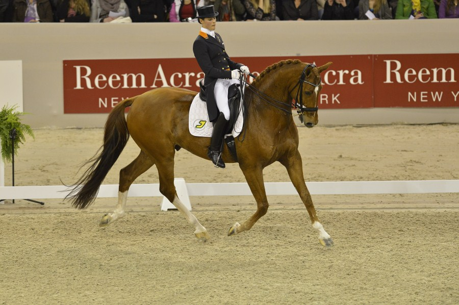 Dressage title sponsorship extended to 2016